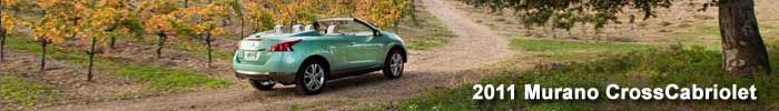 2011 Nissan Murano CrossCabriolet review
